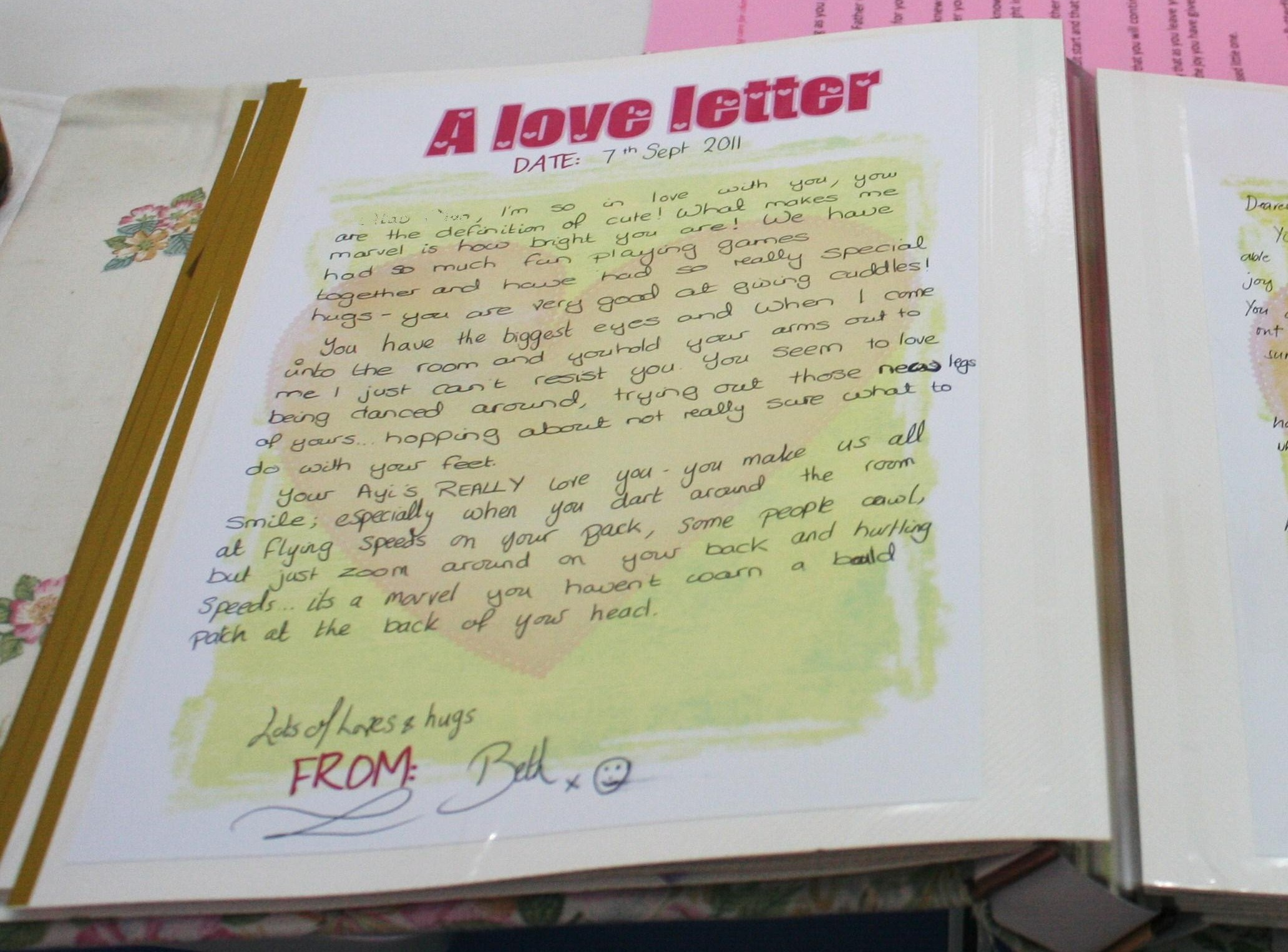 Love Letters a Butterfly Home tradition The Butterfly Home Blog